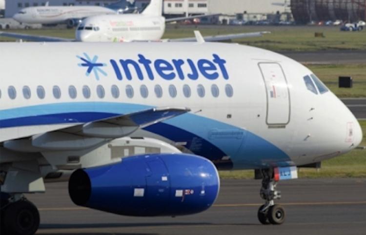 Interjet avanzó 12.5 por ciento en usuarios de enero a noviembre