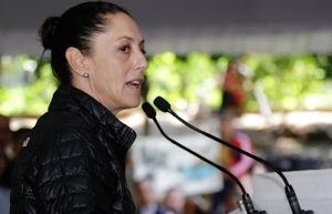 Sheinbaum se retracta en acusar de provocación protesta feminista