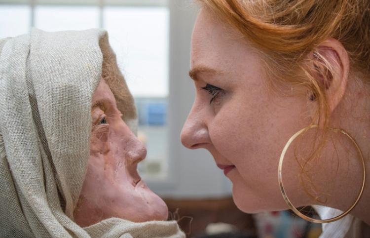 Reconstruyen el rostro de una mujer que vivió hace unos 2.000 años durante la Edad del Hierro