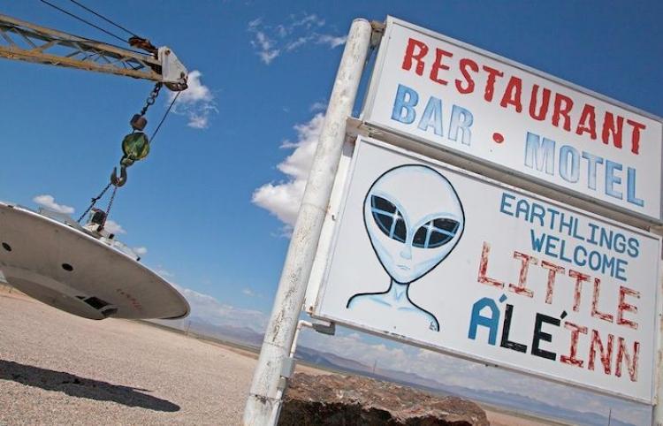 Área 51: Los Lugares que tienes que recorrer