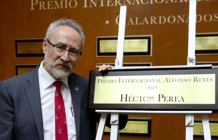 Dedica Héctor Perea vida a difundir obra de Reyes