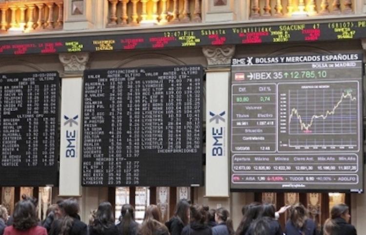 Bolsas europeas inician la semana al alza