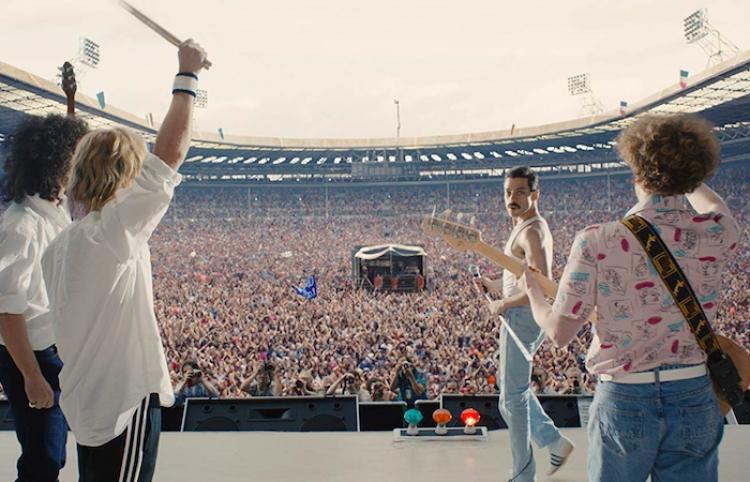 Detrás de cámara de Bohemian Rhapsody