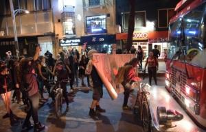 Se investiga a grupos de choque en manifestación de mujeres: Orta