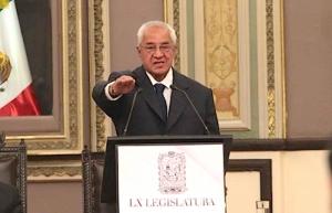 Llama a la unidad Guillermo Pacheco, gobernador interino de Puebla