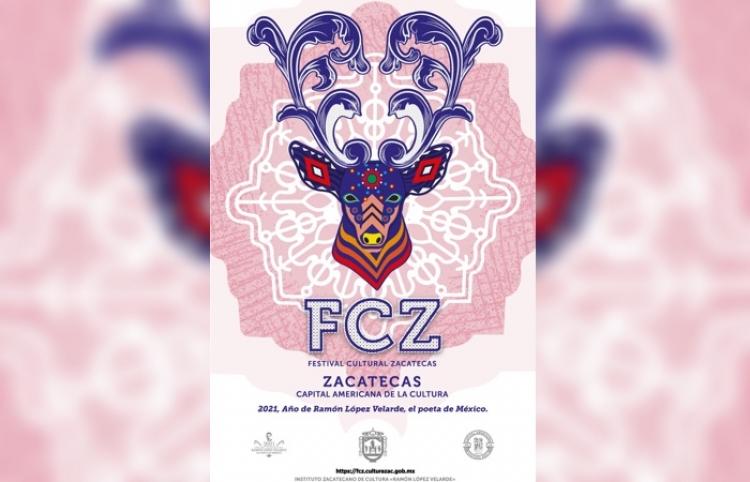 Festival Cultural Zacatecas 2021 tendrá su versión online
