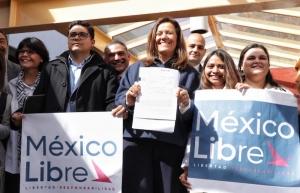 Registra Margarita Zavala intención de crear un nuevo partido político