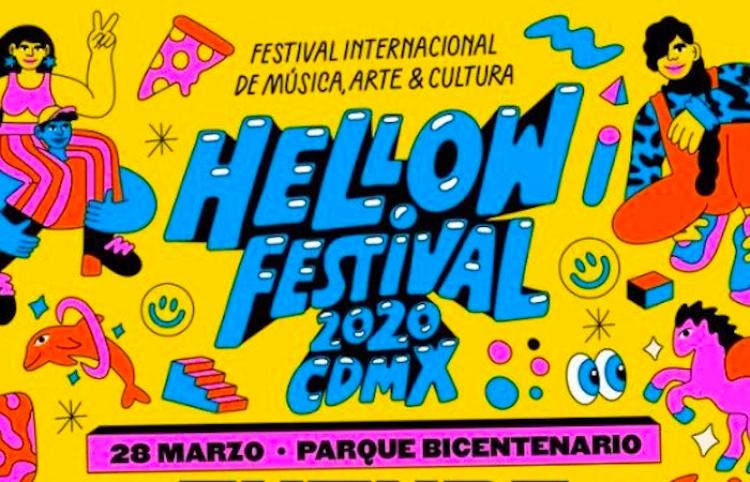 La primera edición de Hellow Festival CDMX, ya tiene su Lineup