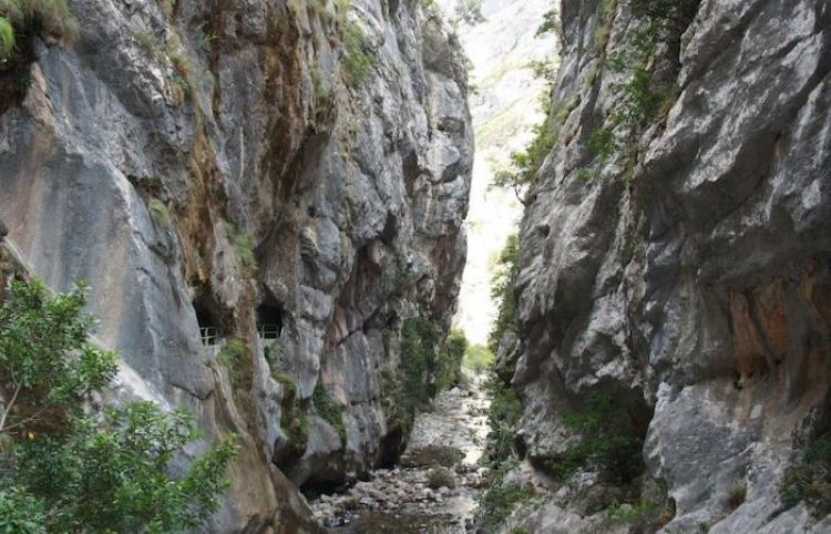 La ruta del Cares atracción turística Austuriana impresionable