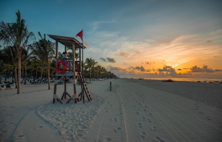 Playas de Cancún están libres de sargazo gracias al esfuerzo humano y a la última tecnologia