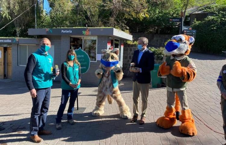 Gobierno de Chile anuncia reapertura del Zoológico Nacional en medio de la pandemia