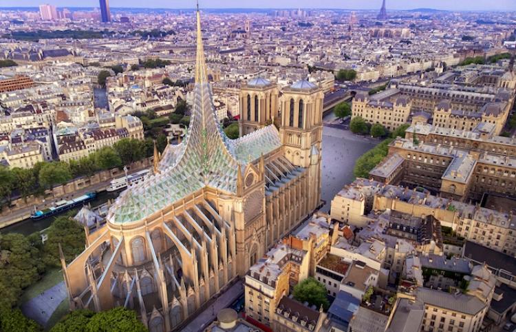 Nueva Notre Dame, catedral futurista